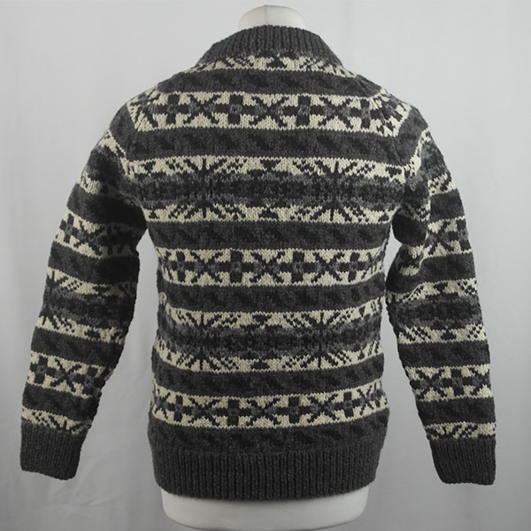 45D Allover Fairisle Crew 414b L