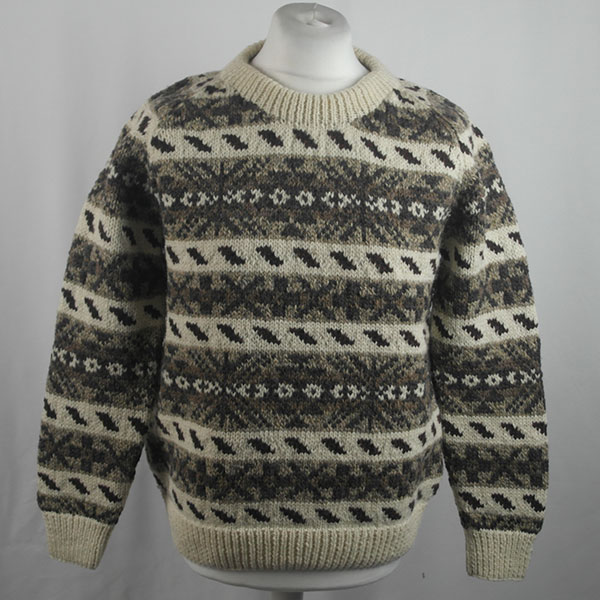 45D Allover Fairisle Crew 416a N