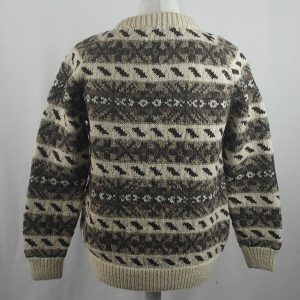 45D Allover Fairisle Crew 416b N