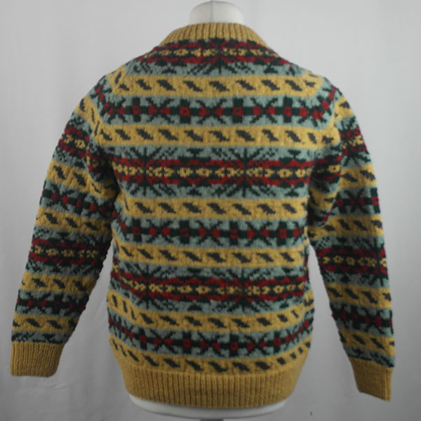 45D Allover Fairisle Crew 418b P