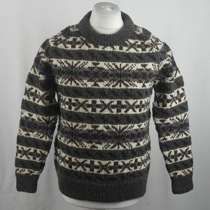 45D Allover Fairisle Crew 419a Q