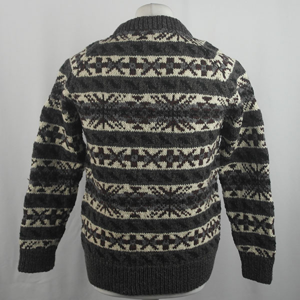 45D Allover Fairisle Crew 419b Q