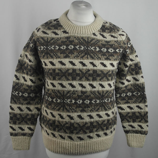 45D Allover Fairisle Crew 420a R