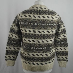 45D Allover Fairisle Crew 420b R