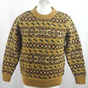 45D Allover Fairisle Crew 421a S