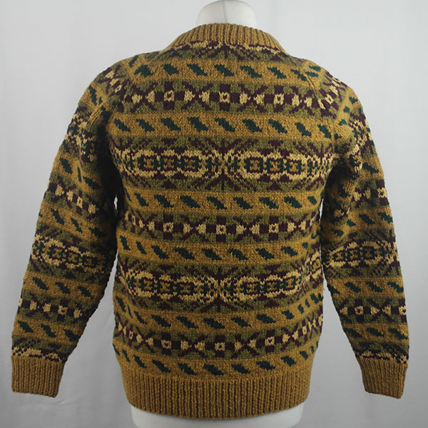 45D Allover Fairisle Crew 421b S