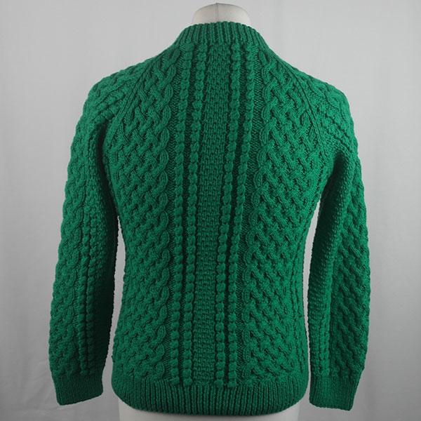 4A Golfer Cardigan 426b Emerald