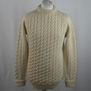 Cabled Sweater 423a Natural
