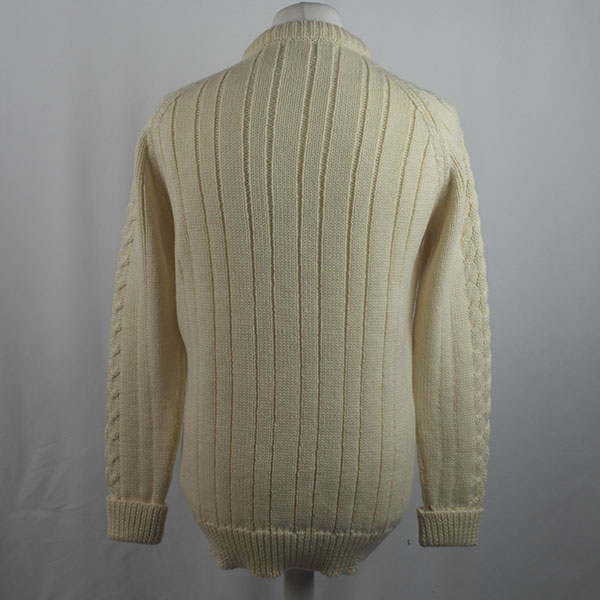 Cabled Sweater 423b Natural