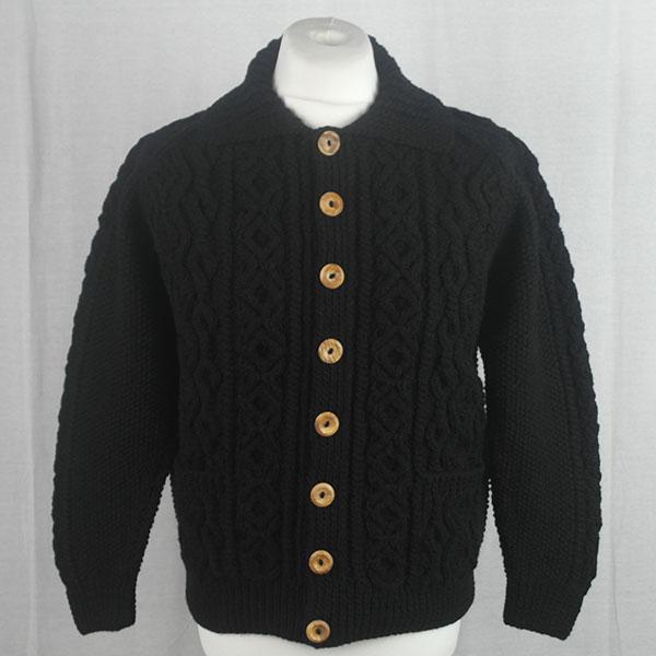 3A Lumber Cardigan 488a Black