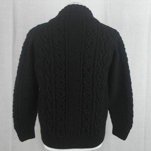 3A Lumber Cardigan 488b Black