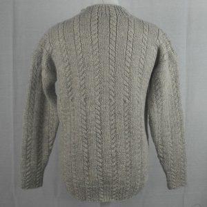 42E Cable Crew Sweater 481b Swift