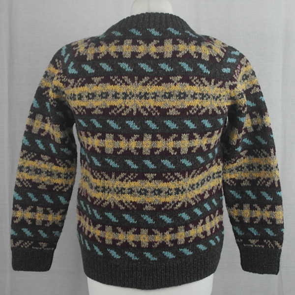 45D Allover Fairisle Crew 482b T
