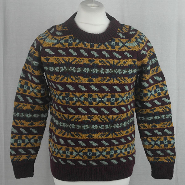 45D Allover Fairisle Crew 483a U