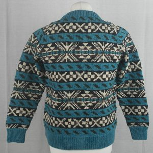 45D Allover Fairisle Crew 484b V