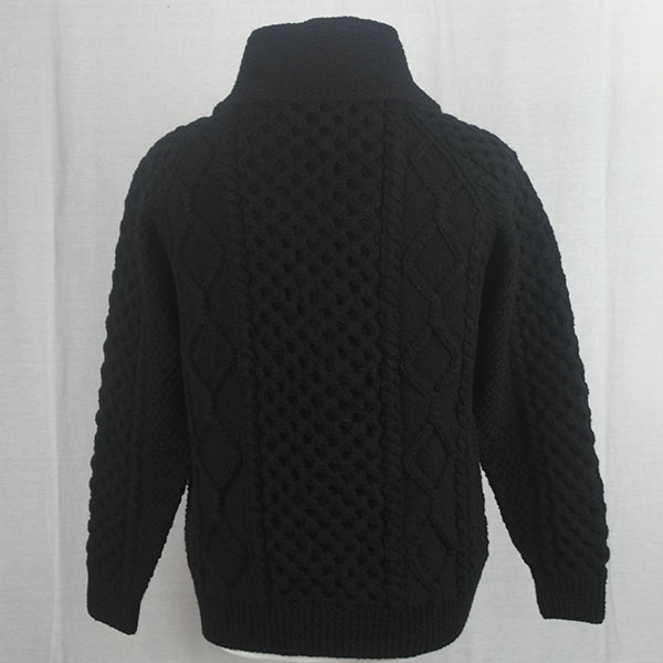 6A Shawl Collar Cardigan 489b Black