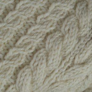 Buttoned Cable Cardigan 494c Natural
