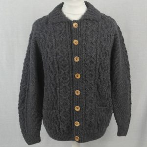 3A Lumber Cardigan 511a Blueish 8096 - Front