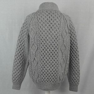 6A Shawl Collar Cardigan 514b Cloud - Back