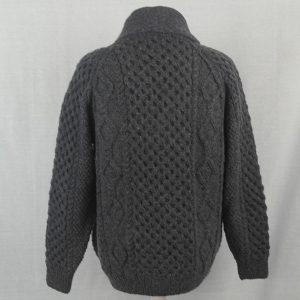 6A Shawl Collar Cardigan 515b Blueish 8096 - Back