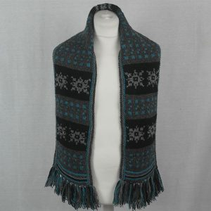 11E Snowflake Scarf 525a Assorted