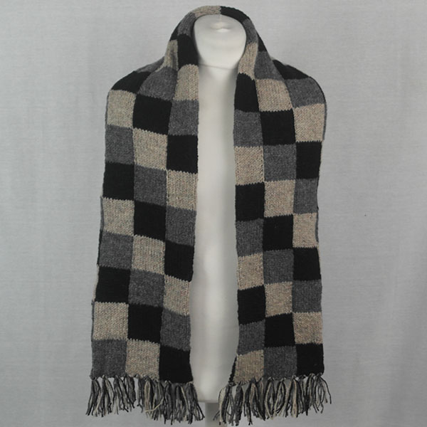 11S Colour Block Scarf 524a Assorted