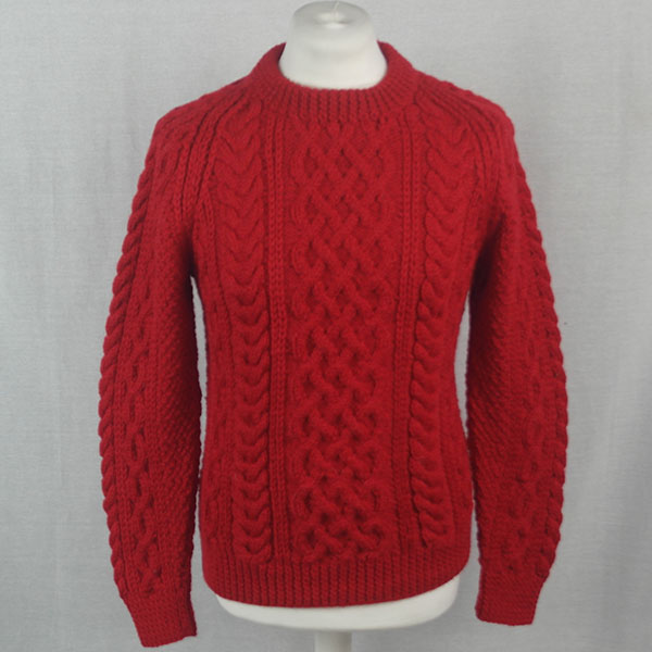 1A Country Meetings Crew Neck Sweater 521a Hollyberry