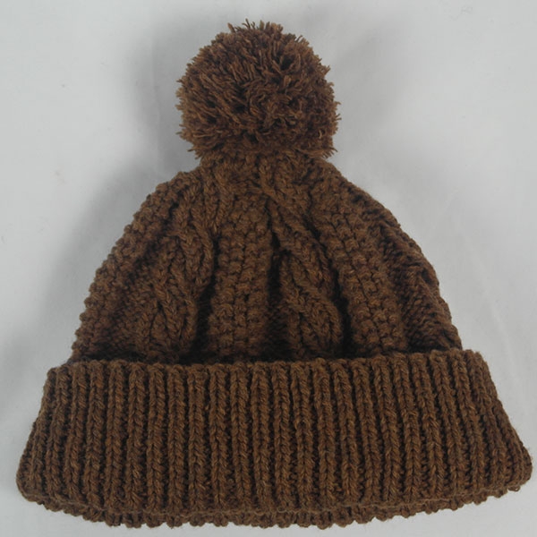 21I Cable Rope Hat 536b Pecan 0731