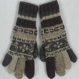 25A Fairisle Gloves Patt B 533a Assorted
