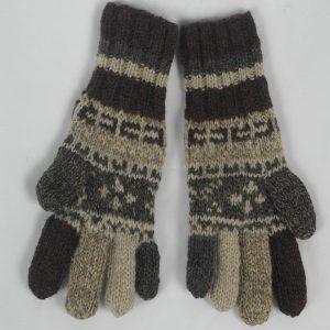 25A Fairisle Gloves Patt B 533b Assorted
