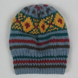 25B Fairisle Hat 548a Assorted