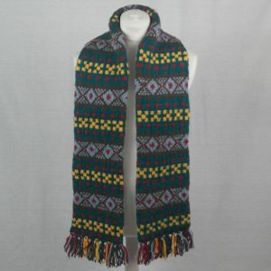 25C Fairisle Scarf 546a Assorted