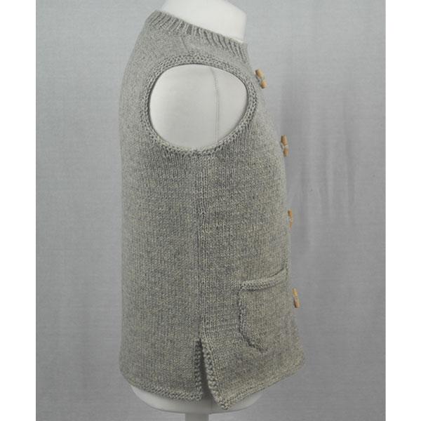 26D Waistcoat 540c Silver 0020