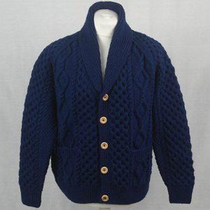 6A Shawl Collar Cardigan 545a Navy 22