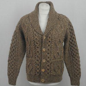 6A Shawl Collar Cardigan 554a Oatmeal 7031