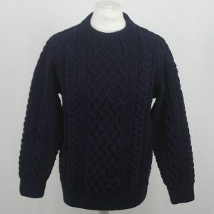 1A Country Meetings Crew Neck Sweater 573a Dark Navy