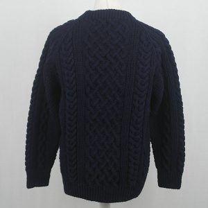 1A Country Meetings Crew Neck Sweater 573b Dark Navy Back