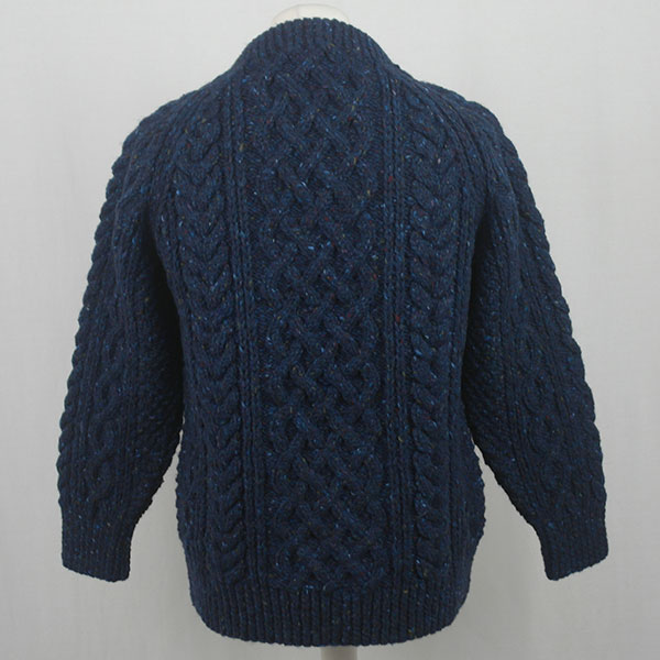 1A Country Meetings Crew Neck Sweater 605b Blueberry Back