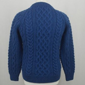 1A Country Meetings Crew Neck Sweater 606b Cobalt Back