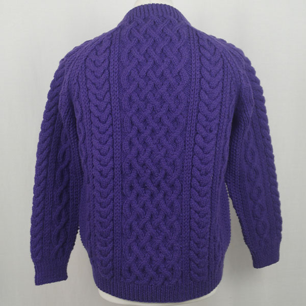 1A Country Meetings Crew Neck Sweater 608b Violet Back