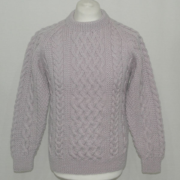 1A Country Meetings Crew Neck Sweater 609a Lilac Front
