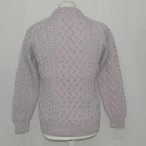 1A Country Meetings Crew Neck Sweater 609b Lilac Back
