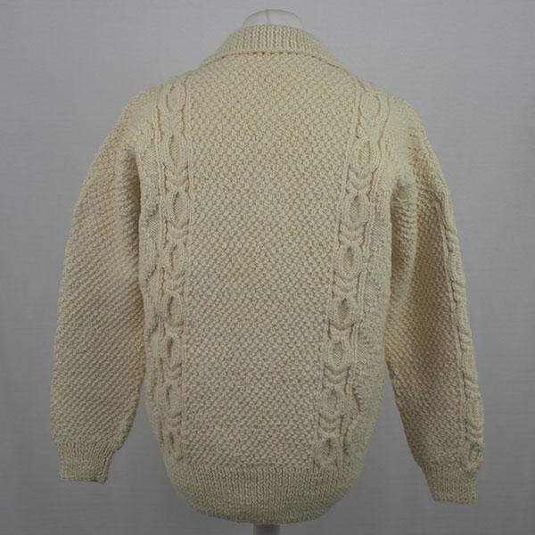 1F Shirt Neck Sweater 564b Natural