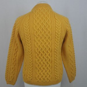 1H Country Meetings Crew Neck Sweater 607b Sunflower Back
