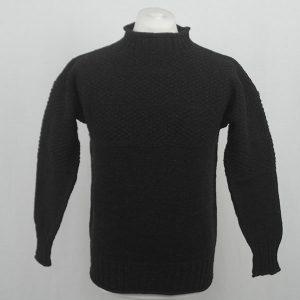 2C Gansey Sweater 569a Mocha 3811 Front