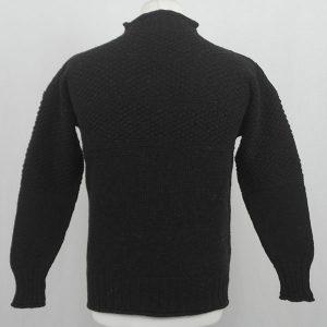 2C Gansey Sweater 569b Mocha 3811 Back