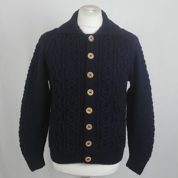 3A Lumber Cardigan 597a Midnight Front