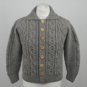 3A Lumber Cardigan 600a Heather Grey Front