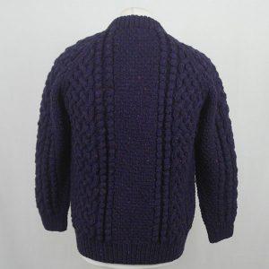 4A Golfer Cardigan 565b Purple 4642