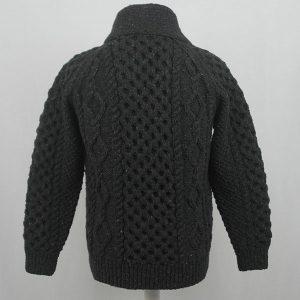 6A Shawl Collar Cardigan 559b Charcoal 7033